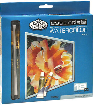 Royal Brush Essentials 12 mL Watercolor Paint Set-18PK