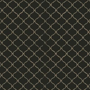 Canvas Corp Printed Single-Sided Black  & Kraft Tile Reverse Cardstock