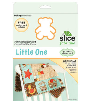 Making Memories Slice Fabrique Design Card-Little One