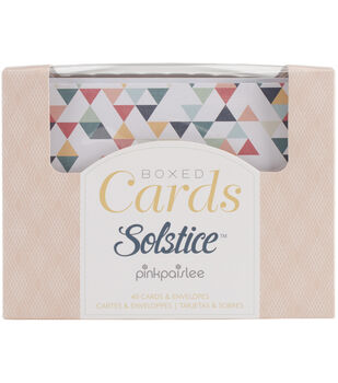 Pink Paislee Solstice A2 Cards & Envelopes