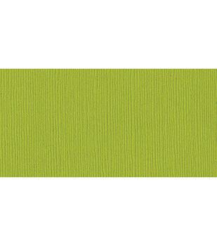 "Bazzill Cardstock 12""X12""-Sour Apple/Grass Cloth"