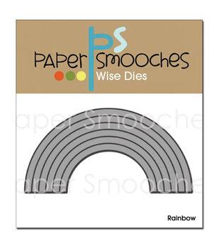 Paper Smooches Die-Rainbow
