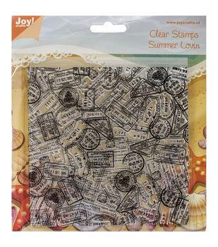 Joy! Crafts Background Bon Voyage Clear Stamps