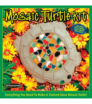 Turtle Mosaic Stone Kit