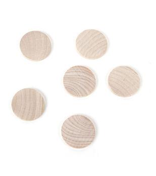 "Turning Shapes-Circles 1-1/2""X3/16"" 6/Pkg"