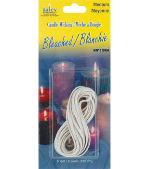 Candle Wicking Bleached-Medium 6'