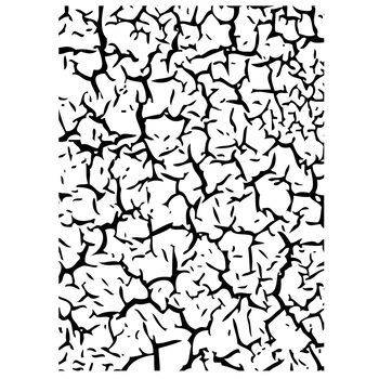 Darice Embossing Folder Crackle