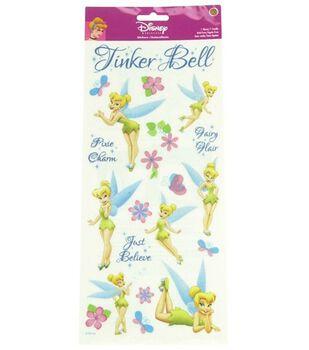 Disney Princess Stickers-Tinker Bell Glitter