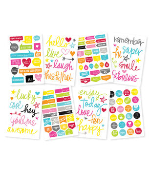 Simple Stories DIY Stickers - Words