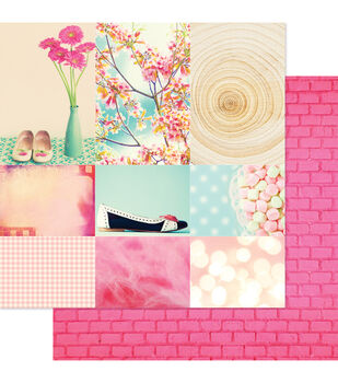 """Beautiful Chic Double-Sided Cardstock 12""""X12""""-Stepping Out"""