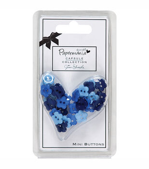 Docrafts Papermania Capsule Mini Buttons Daisy