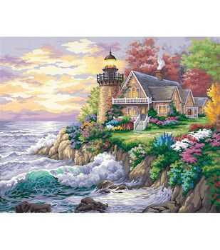 Paint By Number Kit 20''X16''-Guardian Of The Sea