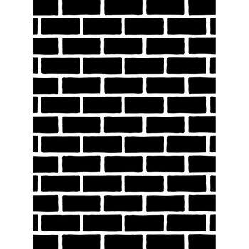 Darice Embossing Folder Brick Pattern