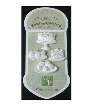 Melissa Frances Sweet Life Cakes & Cookies Resin Embellishments
