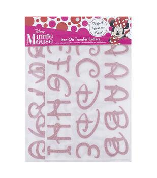 Disney Minnie Mouse Alphabet Iron-on Transfer Letters
