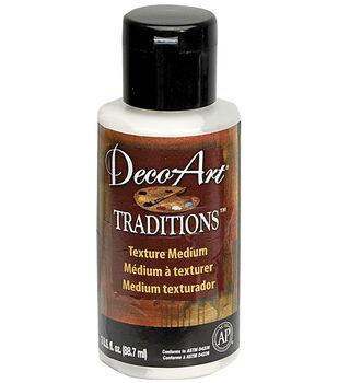 Deco Art Traditions Texture Medium 3 Ounces