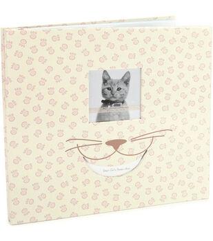 12''x12'' Postbound Album-Cat