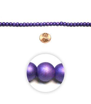Matte Glass Beads
