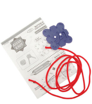 Clover® Asian Knot Templates-Button Knot