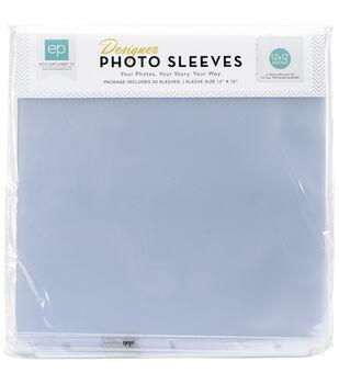 Echo Park Paper Company Photo Sleeves Protectors 50 pcs With 1 Pocket