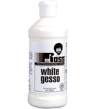 BOB ROSS WHITE GESSO 473 ML