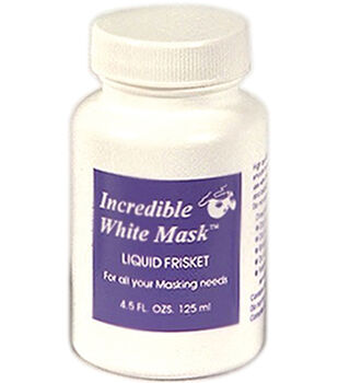 Grafix Incredible White Mask Liquid Frisket-4.5 Ounces