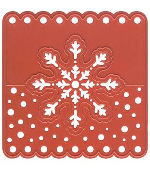 Joy! Crafts Head Tag Snowflake Cut & Emboss Die