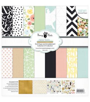 Fancy Pants Office Suite Designs Collection Kit 12''x12''
