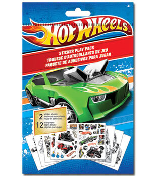 Hot Wheels Play Sticker
