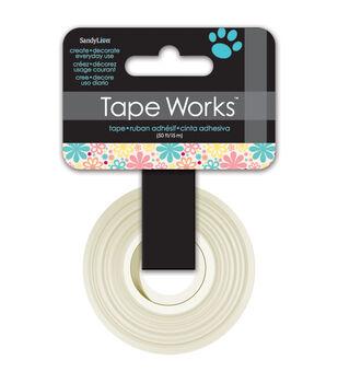 "Tape Works Tape .625""X50'-Flowers"