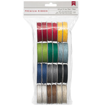 American Crafts Value Pack Hemp Twine Basic Colors