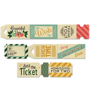 Burlap & Bouquets Tickets 32/Roll