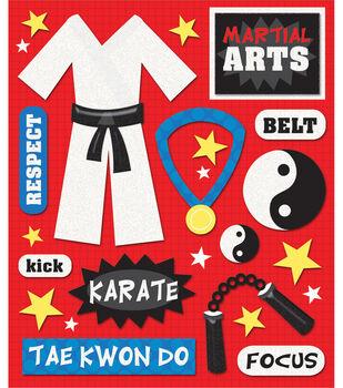 Sticker Medley-Martial Arts