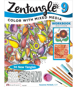 Zentangle 9 Expanded Workbook Edition