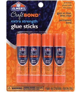 Elmer's Extra Strength Glue Sticks 4/pk