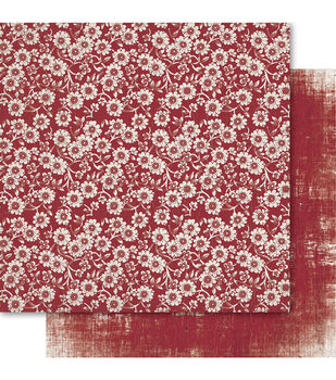 Ruby Rock-It Oriental Chic Momo Double-Sided Cardstock