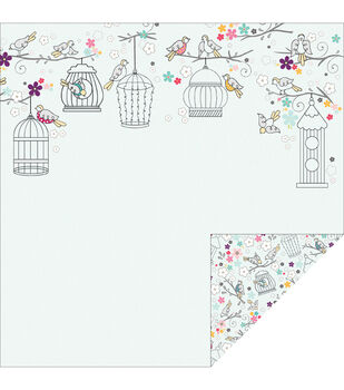 Adorn-It Rhapsody Bop Morning Song Double-Sided Cardstock