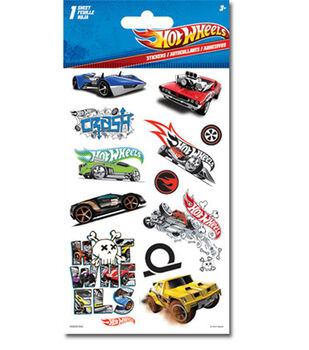 Hot Wheels Dimensional Sticker