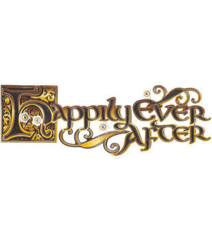 Jolee's Boutique Title Wave Stickers-Happily Ever After