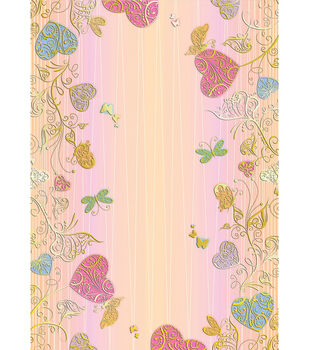 Kanban Crafts 8''x12'' Bella Cardstock-1PK/Hearts