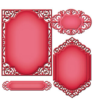 Spellbinders-Nestabilities A2 Card Creator Die - Devine Eloquence