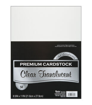 Core'dinations Cardstock Vellum Smooth