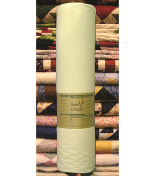 The Warm Company Warm & Natural Cotton Quilt Batting- Sold by the Yard