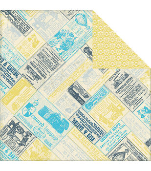 """Favorite Double-Sided Cardstock 12""""X12""""-Notable"""