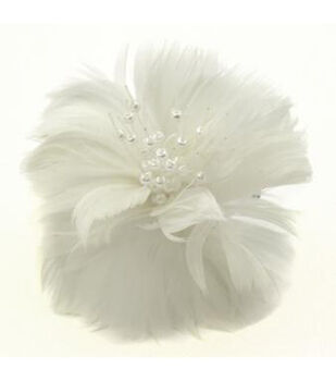 Lb White Feather Blossom