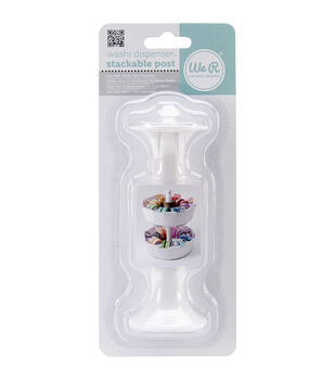 """We R Washi Dispenser Stackable Post-4.5"""", For Use With Dispenser 71144"""