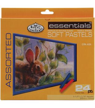 Royal Brush-Soft Pastels-Assorted 24PKg