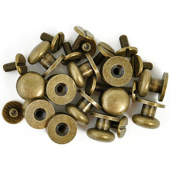 Kaisercraft Treasures Metal Drawer Knobs Antique Brass