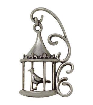 Silver embellishments 30/Pkg-Lantern