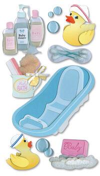 Jolee's Boutique Dimensional Stickers-Bath Time